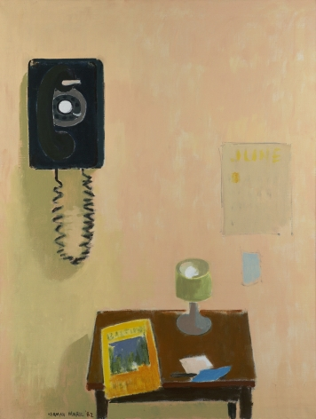 Herman Maril (1908-1986), The Telephone, 1982