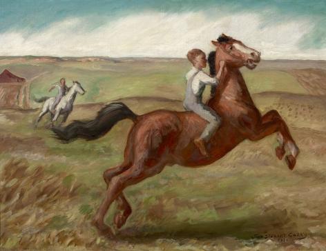 John Steuart Curry (1897-1946), Spring Morning, 1932