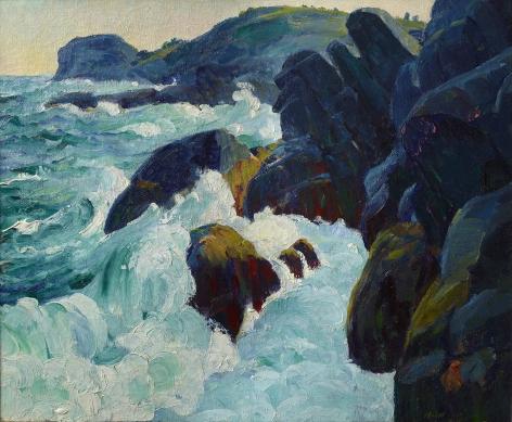Abraham Leon Kroll (1884-1974), Gull Rock, 1913