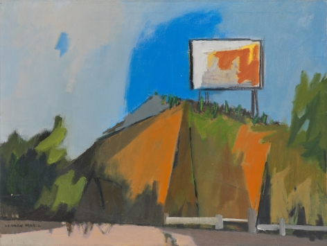 Herman Maril (1908-1986), Landmark on the PRR, 1965