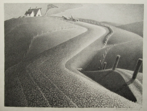 Grant Wood (1892-1942), March, 1939