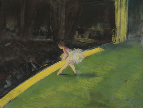 Everett Shinn (1876-1953), The Yellow Dancer