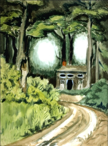 Charles Ephraim Burchfield (1893-1967)       , The Turn in the Road, 1918
