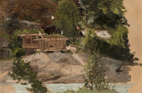 Lockwood de Forest (1850-1932), Ganeshbal, Kashmir