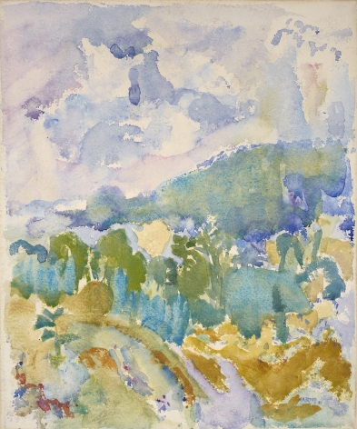 John Marin (1870-1953), Hudson River Valley, 1911