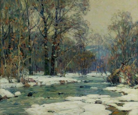 John Fabian Carlson (1875-1947), Sylvan Stream