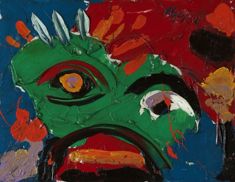 Karel Appel (1921-2006), Head