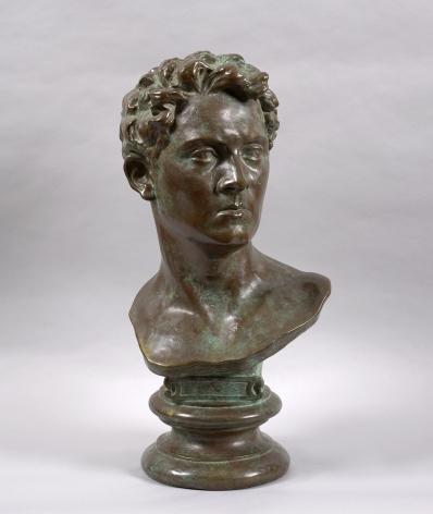 male figure bust
