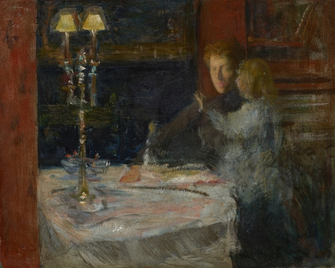 figures in an interior