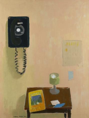 Herman Maril (1908-1986), The Telephone, 1982