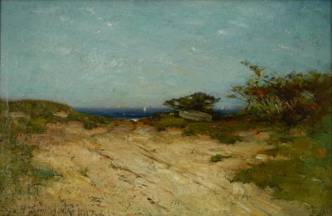 George Henry Smillie (1840-1921), Road to the Sea, Marblehead Neck