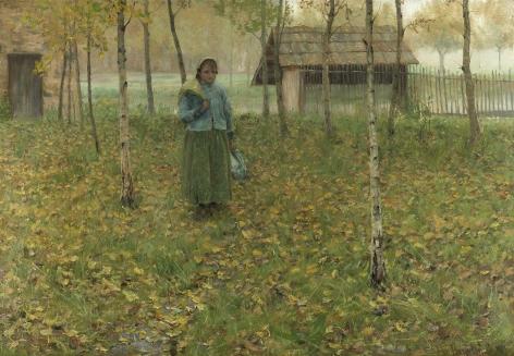 Thomas Alexander Harrison (1853-1930), Misty Morning, circa 1882