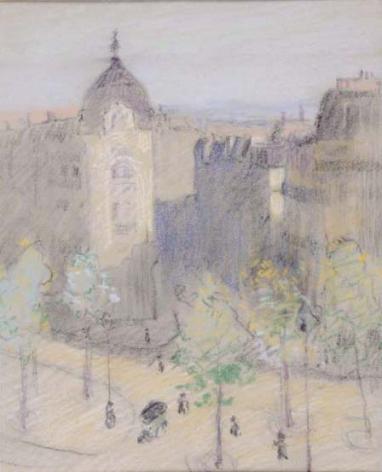 Bernhard Gutmann (1869-1936), Paris Morning, circa 1911