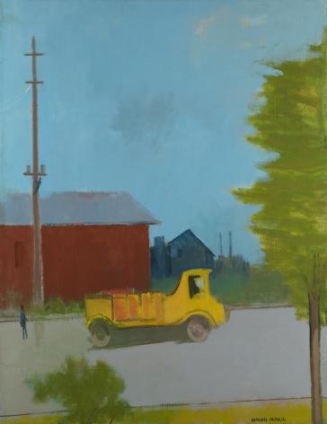 Herman Maril (1908-1986), The Yellow Truck, 1980