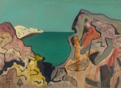 Milton Avery (1885-1965), Rocky Coast, 1944-45