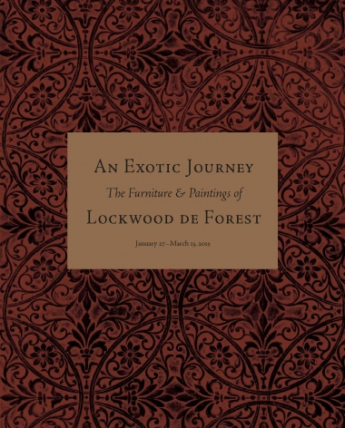 An Exotic Journey: The Furniture and Paintings of Lockwood de Forest