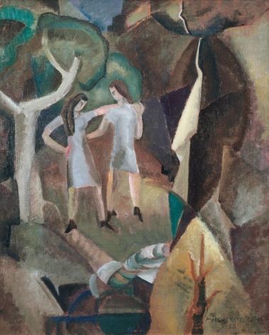 Marguerite Zorach (1887-1968), Figures and Falls, 1920