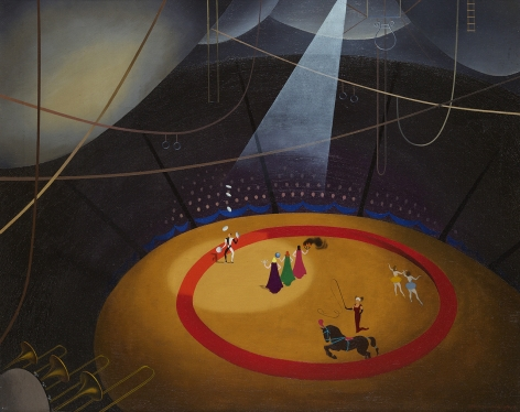 Virginia Berresford (1904-1995), Circus, circa 1930-1940