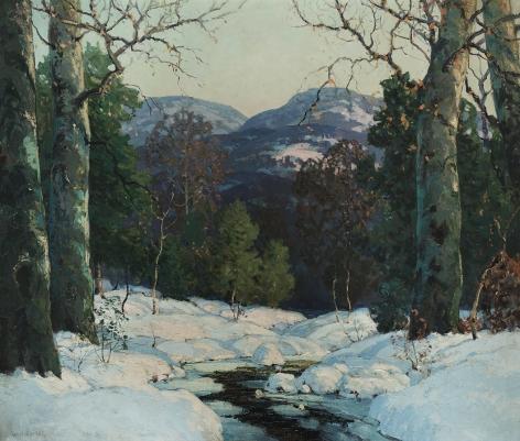 Walter Koeniger (1881-1945), Winter Stream