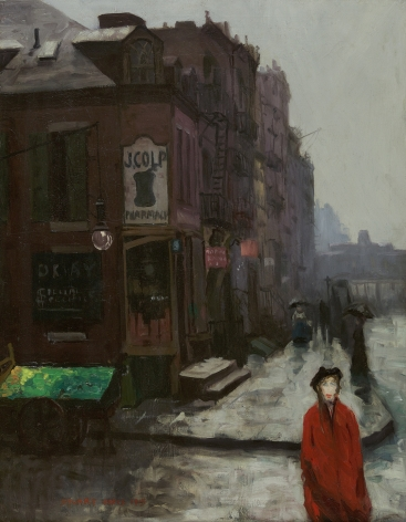 Stuart Davis (1892-1964), Bleecker Street, 1913
