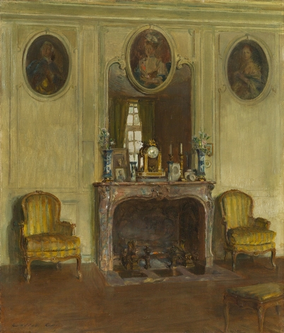 Walter Gay (1856-1937), Interior at the Chateau du Breau