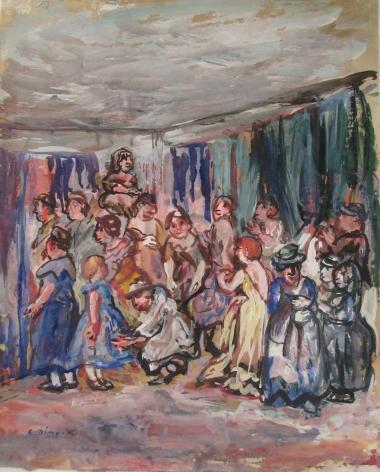 Edith Dimock (1876-1955), The Flea Fair