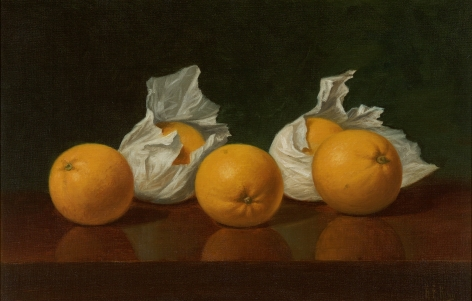 Albert Francis King (1854-1945), Wrapped Oranges, circa 1885