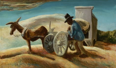 Thomas Hart Benton (1889-1975), Morning and a Sack of Meal, circa 1933