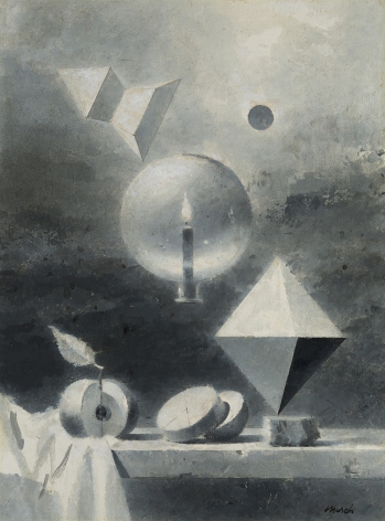 Walter Murch (1907-1967), Study for Octahedron