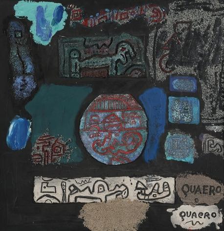 Ynez Johnston (b. 1920), Quaero, 2009