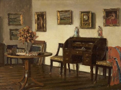 Walter Gay (1856-1937), Studio Interior