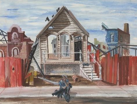 Aaron Bohrod (1907-1992), Abandonment, 1963