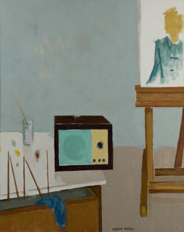 Herman Maril (1908-1986), Music in Studio, 1985