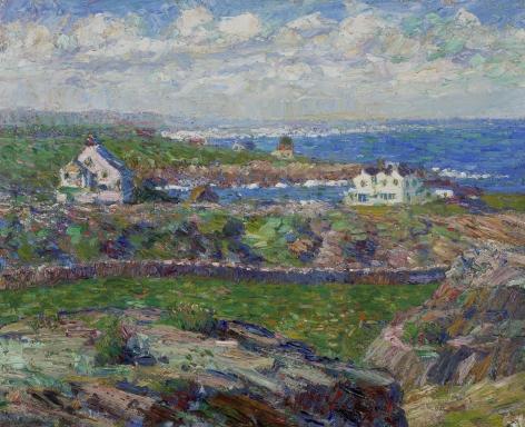 Walt Kuhn (1880-1949), Houses on the Sound, circa 1909