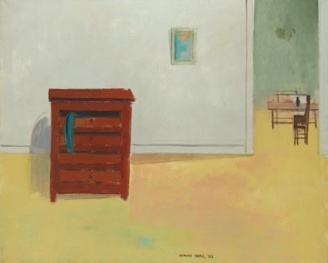 Herman Maril (1908-1986), Interior with Dresser, 1983