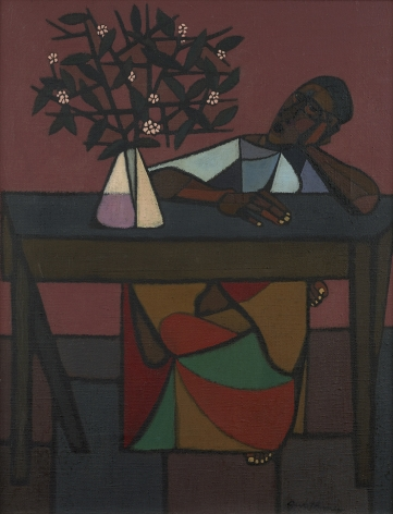 Robert Gwathmey (1903-1988), Woman at Table