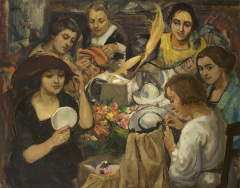 Theresa F. Bernstein (1895-2002), The Milliners, 1923