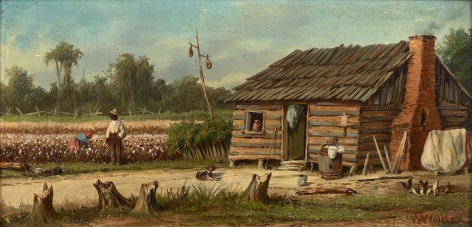 William Aiken Walker (1838-1921), Share Cropper's Cabin