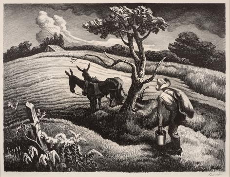 Thomas Hart Benton (1889 – 1975), Approaching Storm, 1938