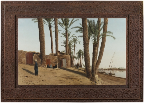 Lockwood de Forest (1850-1932), Bank of the Nile Opposite Cairo, Egypt, 1879-86