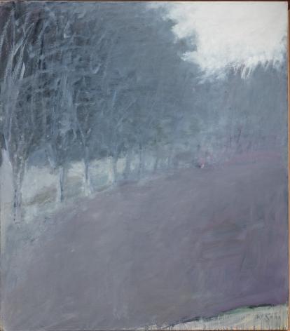 Wolf Kahn (b.1927), Tree Row, circa 1960