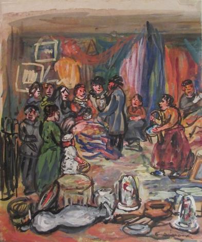 Edith Dimock (1876-1955), The Flea Fair I