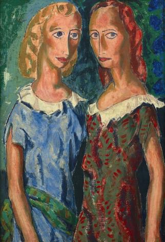 2 female figures