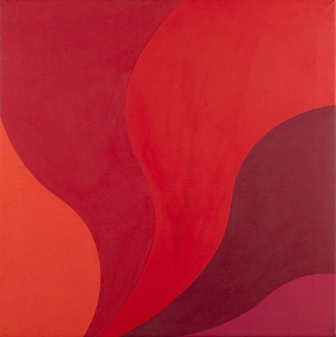 Michael Michaeledes (1927-2015), Red Variations, 1967