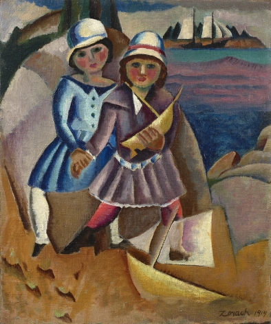 William Zorach (1887-1966), Fishermen's Children, 1919