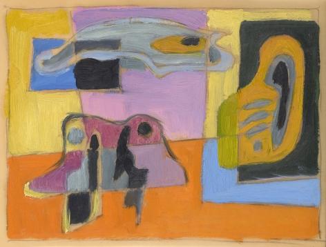 Werner Drewes (1899-1985), Untitled, circa 1940s