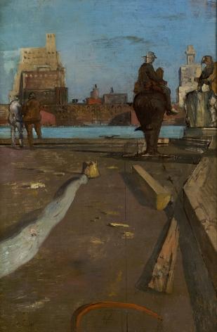 Eugene Berman (1899-1972), New York, 1936