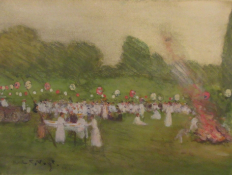 Louis Charles Vogt (1864-1939), The Fourth of July, 1912