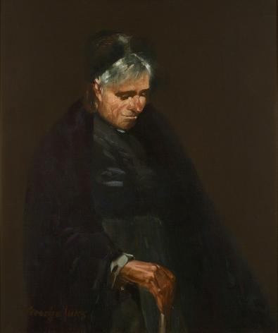 George Benjamin Luks (1867-1933), Matches Mary, circa 1905