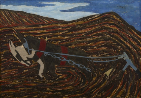 Jacob Lawrence (1917-2000), The Plowman (Spring Plowing), 1942